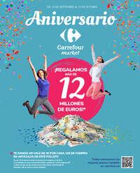 Aniversario. ¡Regalamos más de 12 millones de euros!