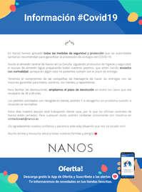Información Nanos #Covid19