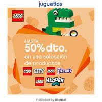 Descuentos en selección Lego