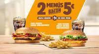 2 menús bacon