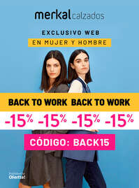 Back to work -15%
