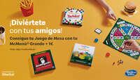 Consigue tu juego de mesa con tu McMenú Grande + 1€