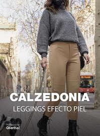 Leggings efecto piel