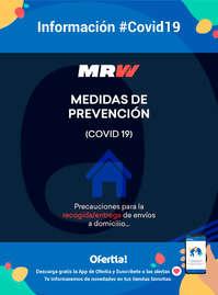 Información MRW #Covid19