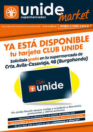 Ya está disponible tu tarjeta Club Unide