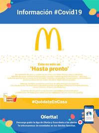 Información McDonald's #Covid19