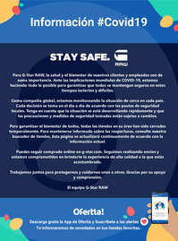 STAY SAFE #Covid19