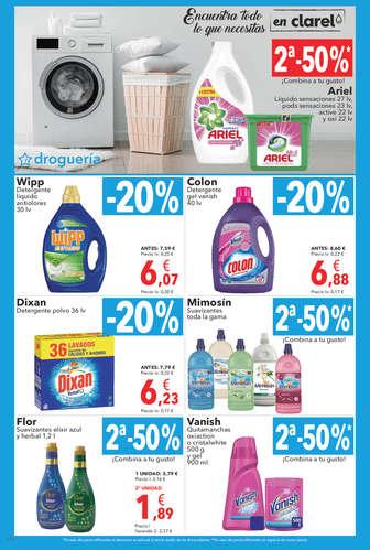Encuentra todo lo que necesitas en Clarel- Page 1