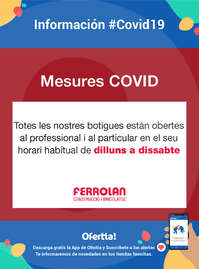 Mesures - #Covid19