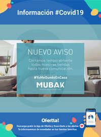 Información Mubak #Covid19