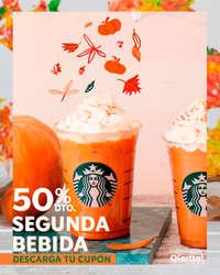 50% dto. en tu segunda bebida