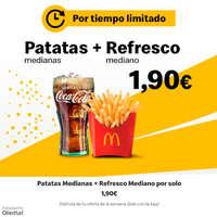Patatas + Refresco