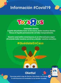 """Información Toys """"R"""" us #Covid19"""