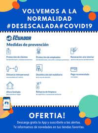 Medidas de prevención #Desescalada