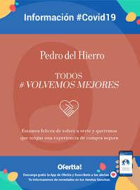 Información Pedro del Hierro #covid19