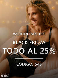 Black Friday. Todo al 25%