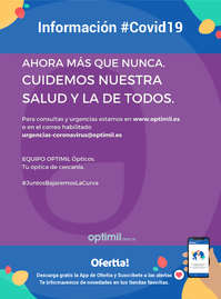 Información Optimil #Covid19