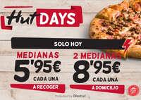 Hut days, ¡solo hoy!