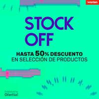 Hasta 50% de descuento en selección de productos