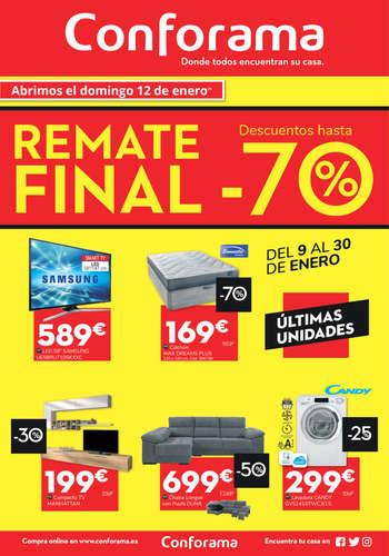Remate Final. Descuentos hasta -70%- Page 1