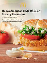 Nueva American Style Chicken Creamy Parmesan