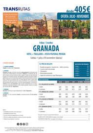 Viaja a Granada