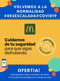 Cuidamos de tu seguridad para que sigas disfrutando #Desescalada