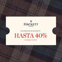 Las rebajas de Hackett. Hasta 40% de descuento