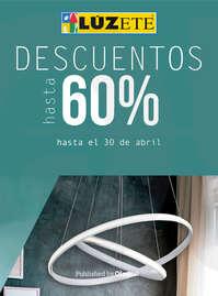 Descuentos hasta 60%