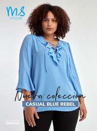 Nueva colección. Casual blue rebel