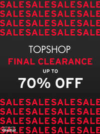 Final Clearance up to 50% off