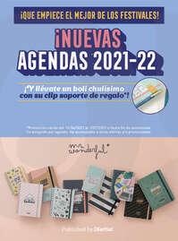 ¡Nuevas agendas 2021-22! 📒✨