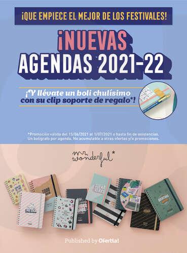 ¡Nuevas agendas 2021-22! 📒✨- Page 1
