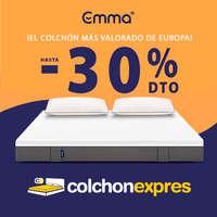 -30% dto. en colchón Emma