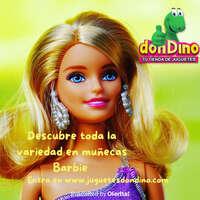 Descubre la variedad en muñecas Barbie en Don Dino 😍