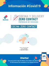 Información Domino's Pizza #covid19