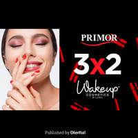 3x2 en Wakeup Cosmetics