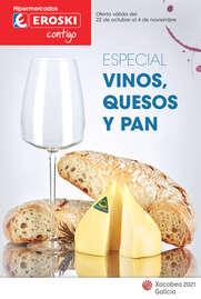 - Especial vinos, quesos y pan -