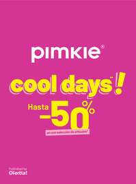 Cool days. Hasta -50%