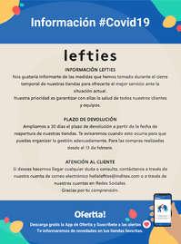 Información Lefties #Covid19