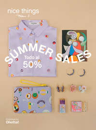 Summer sales. Todo al 50%