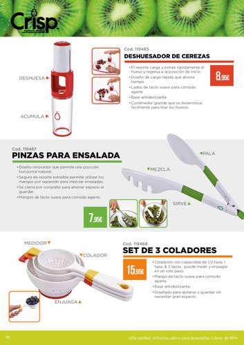 Crisp - Utensilios de cocina para una alimentación saludable- Page 1