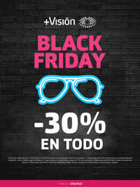 Black Friday -30% en todo