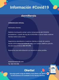 Información Dormitienda #Covid19