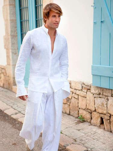 Comprar Camisa De Lino Hombre Barato En Ciudad Real Ofertia