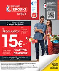 - 15€ oparitzen dizkizugu -