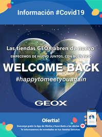 Información Geox #covid19