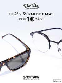 Ofertas en 2do y 3er par de gafas