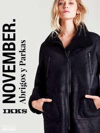 November. Abrigos y parkas