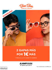 2 gafas más por 1€